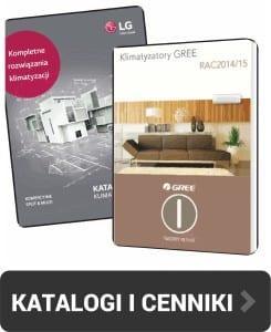 Klimatyzacja- katalogi i cenniki