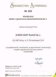 polon autoryzacja
