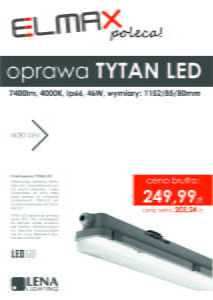 LED Go! LENA Tytan LED