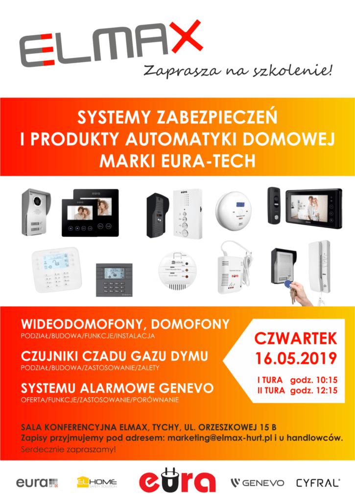 eura, eura-tech, domofony, wideodomofony, czujniki gazu, czujniki dymu, czujniki czadu, systemy alarmowe, elmax, elmax-hurt, elmax tychy