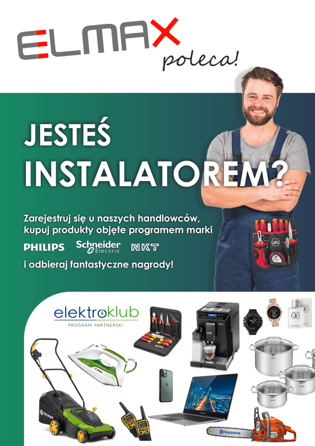 elektroklub elmax program lojalnościowy dla elektryków